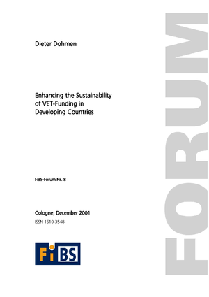 Enhancing the Sustainability of VET-Funding in Developing Countries